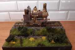Diorama voor Ruud
